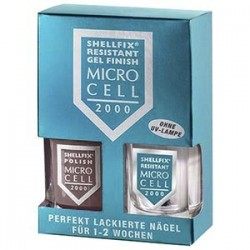 Micro-Cell SHELLFIX RESISTANT GEL FINISH F 2 - Marron claro-2x1